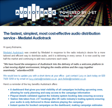 Audiotrack News